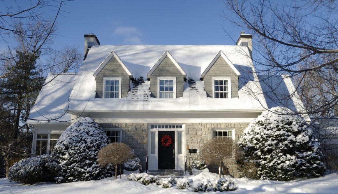 Sweet winter home